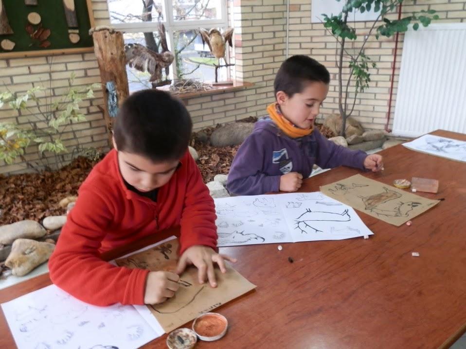 Labar artea praktikatzen Lehen Hezkuntza